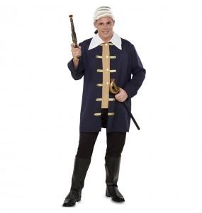 Fato de Bucaneiro pirata para homem