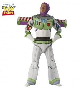 Disfarce Buzz Lightyear adulto divertidíssimo para qualquer ocasião