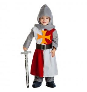 Disfarce Cavaleiro Medieval bebé para deixar voar a sua imaginação