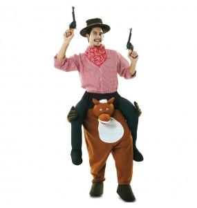 Fato às costas de Cowboy Rodeio para adulto