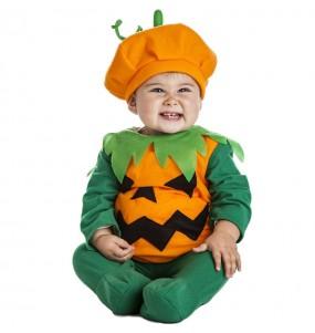Fato de Abóbora laranja para bebé