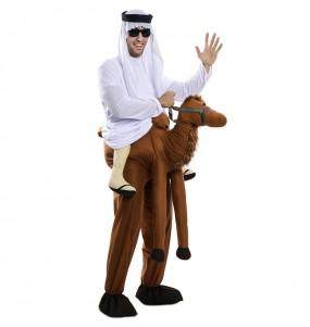 Fato às costas de Camelo para adulto