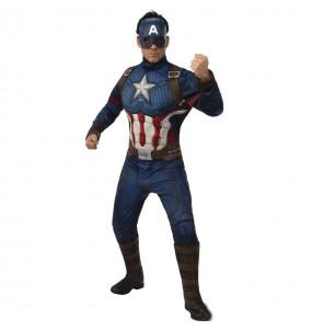Disfarce Capitão América Os Vingadores adulto divertidíssimo para qualquer ocasião