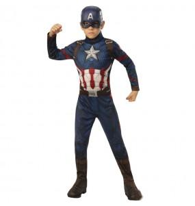 Disfarce Capit?o Am?rica Marvel menino para deixar voar a sua imagina??o