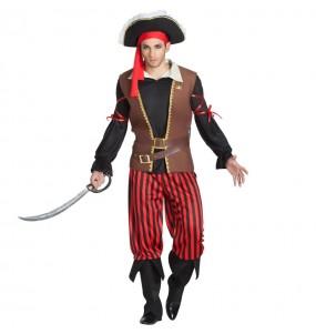Disfarce Capitão Pirata adulto divertidíssimo para qualquer ocasião