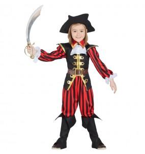 Disfarce Capitão Pirata menino para deixar voar a sua imaginação