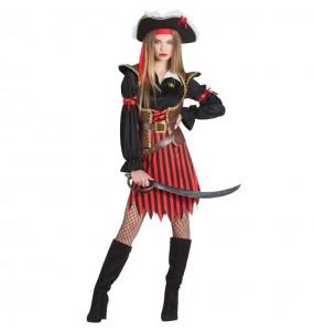 Disfarce original Capitã Pirata mulher ao melhor preço