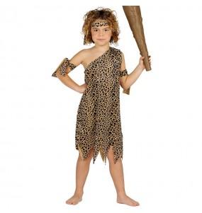 Disfarce Troglodita das Cavernas menino para deixar voar a sua imaginação