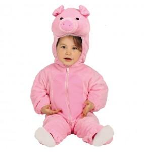 Disfarce Porquinho bebé para deixar voar a sua imaginação