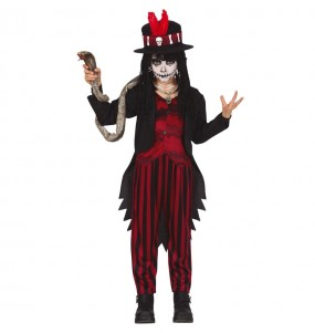 Fato de Xamã Voodoo para menino