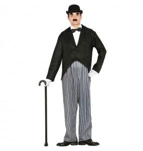 Disfarce Charles Chaplin adulto divertidíssimo para qualquer ocasião