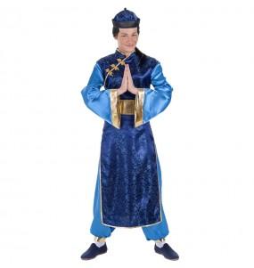 Disfarce Chinês Elegante adulto divertidíssimo para qualquer ocasião
