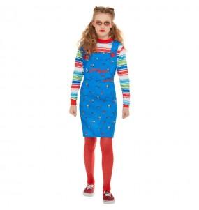 Fato de Chucky para menina