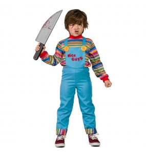 Disfarce Halloween Chucky O Boneco Diabólico para meninos para uma festa do terror