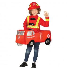 Disfarce Carro de Bombeiros menino para deixar voar a sua imaginação