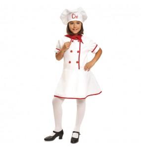 Disfarce Cozinheira Masterchef menina para que eles sejam com quem sempre sonharam