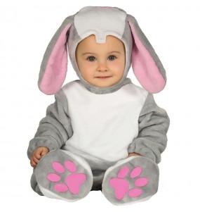 Fato de pequeno coelho para bebé