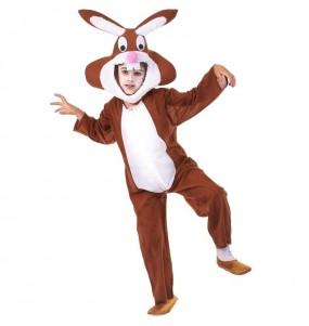 Disfarce Coelho Bunny menino para deixar voar a sua imagina??o