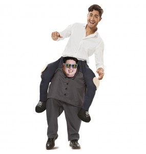 Fato às costas de coreano Kim Jong-Un para adulto