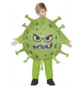 Fato de Coronavirus insuflável para menino