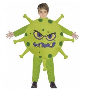Fato de Coronavirus para menino
