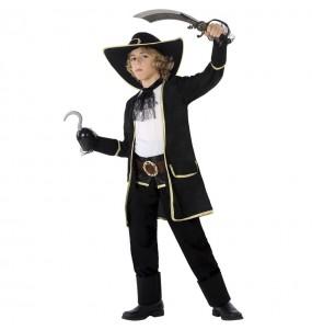 Disfarce Pirata Corsário menino para deixar voar a sua imaginação