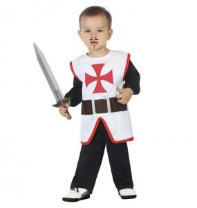 Fato de Cruzado medieval para bebé