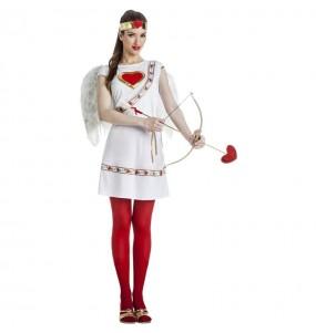 Fato de Cupido para mulher