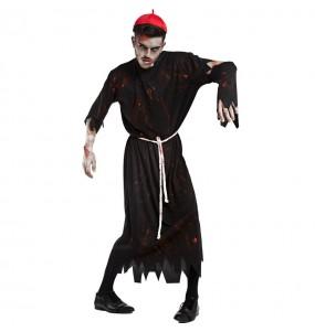 Fato de Sacerdote zombie para homem