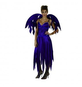 Fato de Diaba Gotica Sexy mulher para a noite de Halloween