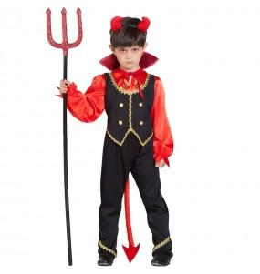 Disfarce Halloween Demónio Malvado meninos para uma festa do terror
