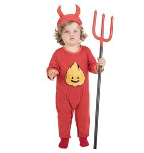 Disfarce Halloween Demónio Infernal com que o teu bebé ficará divertido.