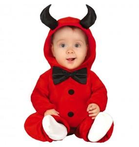 Disfarce Halloween Demónio Lúcifer com que o teu bebé ficará divertido.