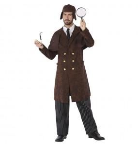 Disfarce Detetive Sherlock Holmes adulto divertidíssimo para qualquer ocasião