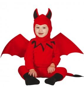 Fato de Diabo Alado para bebé