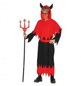 Disfarce Halloween Demónio Inferno para meninos para uma festa do terror