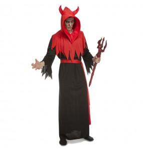 Fato de Diabo Infernal adulto para a noite de Halloween