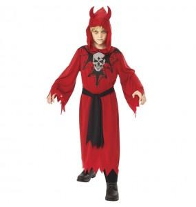 Fato de Diabo Justiceiro para menino