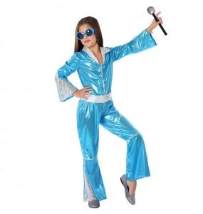 Disfarce Disco Azulpara menina menina para que eles sejam com quem sempre sonharam