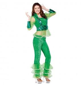 Disfarce original Disco verde mulher ao melhor preço
