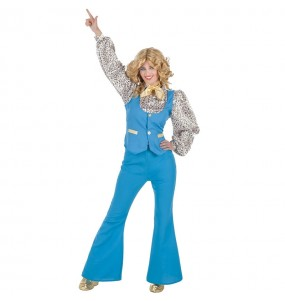 Disfarce original Discoteca Azul mulher ao melhor preço