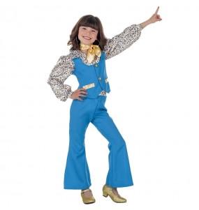 Disfarce Discoteca Azul menina para que eles sejam com quem sempre sonharam
