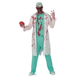 Fato de Doutor Zombie para homem
