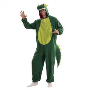 Fato de Dragão Verde para homem