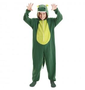 Fato de Dragão Verde para menino