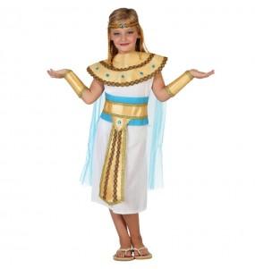 Disfarce Egípcia do Nilo menina para que eles sejam com quem sempre sonharam