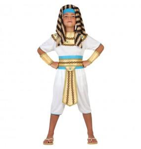 Disfarce Egípcio do Nilo menino para deixar voar a sua imaginação