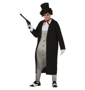 Fato de O Pinguim Batman para homem