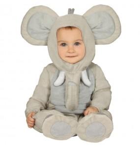 Disfarce Elefante bebé para deixar voar a sua imaginação