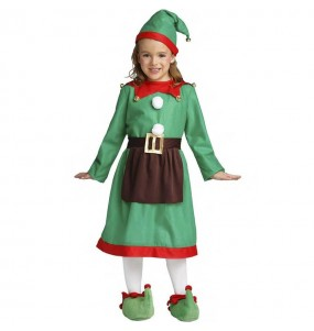 Disfarce Elfo menina para que eles sejam com quem sempre sonharam